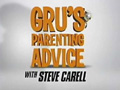 Despicable Me  Featurette Grus Parenting Advice