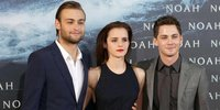 Logan Lerman, Douglas Booth as Sons of 'Noah'