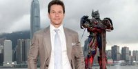 Wahlberg, Cast of 'Transformers: Age of Extinction' in HK for World Premiere