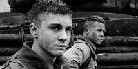 Logan Lerman Trains for War in Fury