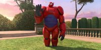 Inflatable Robot Baymax Takes Spotlight in Big Hero 6