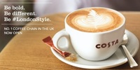 Now Open in Eastwood: Costa Coffee's first store in the Philippines