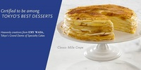 Japanese Mille Crepe place 'Paper Moon Cafe' opens two shops in Manila August 7 and 8