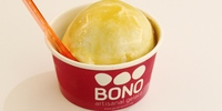 Sweet and salty with a Japanese twist: Meet the Caramel Miso, BONO Gelato's newest flavor