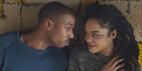 Tessa Thompson Plays Beautiful Music with Creed Hero