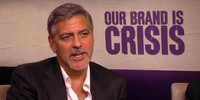 George Clooney Says Our Brand is Crisis Not All About Politics