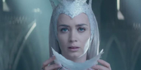 Emily Blunt, the Ice Queen in The Huntsman: Winter's War