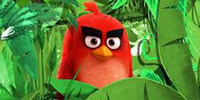 Red (The Angry Bird) Goes Green on Earth Day