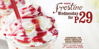 Promo Alert: Buy one Raspberry and White Chocolate Cream Frostino and get the 2nd one for only P29!