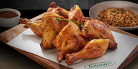 Italianni's Roast Chicken Platter: A Savory Treat