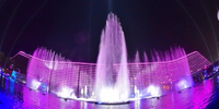 Okada Manila unveils the world's largest multicolored dancing water fountain, 'The Fountain'