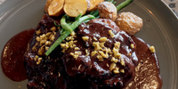 Eat of the Week: This Chocolate Covered Chicken by Chef Tatung at SM Mall of Asia