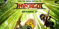Ninjas Assemble in The LEGO Ninjago Movie Main Poster