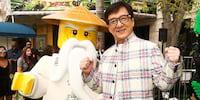 Jackie Chan Turns Into a Ninja-Training Bearded Master in 'The LEGO NINJAGO Movie'