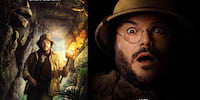 Jack Black Channels His Inner Teenage Girl in Jumanji