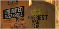 Yellow Cab brings back unlipizza for P299 on Feb 8