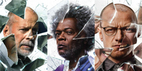 New Glass Character Posters Shatter the Super Heroes