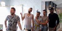 Interview with Queer Eye's Jonathan Van Ness, Antoni Porowski, and Tan France on Their Dream Makeover Destinations, Drag Queen Names, and More!