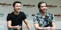 Tom Holland and Jake Gyllenhaal Begin World Tour for 'Spider-Man: Far From Home'