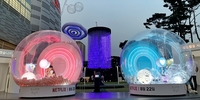 Catch Feelings at the Netlflix 'Love Alarm' Experience in Lotte World Tower Park, Seoul