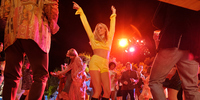 Margot Robbie Basks in the Hollywood Bygone Era in Once Upon A Time