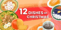 INFOGRAPHIC: The 12 Dishes of Christmas in a Filipino Noche Buena