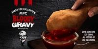 Catch KFC's Bloody Gravy This Halloween!