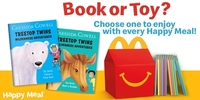 McDonald's Happy Meal Now Lets Kids Choose Between Toys or Books