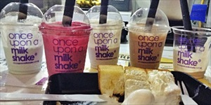 Creamier Ever After with Once Upon A Milkshake