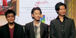Rurouni Kenshin's Takeru Satoh, Munetaka Aoki, Emi Takei and Keishi Otomo Visit Manila