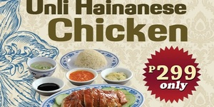 Chicken All You Can: Wee Nam Kee Rolls Out Unli-Hainanese Chicken Promo for One Week Only