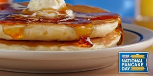 Save The Date (and Your Appetite): IHOP offers All You Can Eat Pancakes for a Cause on March 3