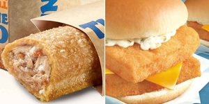 Fastfood Fish Picks: McDonald's Double Filet-O-Fish and Jollibee Tuna Pie Trio