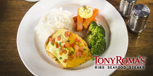 Indulge in Tony Roma's Great Value New Set Lunch