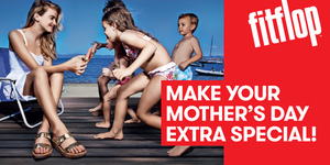 Share a happy moment with your mom and win a pair of FitFlop because she deserves it!