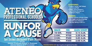 Ateneo Professional Schools: Run For A Cause