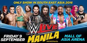 WWE Live in Manila