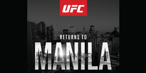 UFC Returns to Manila on 15 October 2016