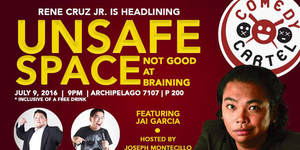 Comedy Cartel and Archipelago 7107 present Unsafe Space Series