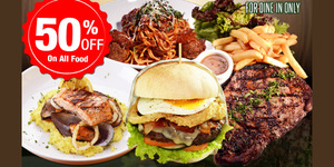 Enjoy 50% off on all dishes all-day, all-night on July 27 at Draft Gastropub Makati, BGC and Alabang