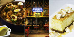 Cazuela serves Spanish colonial cuisine at Sapphire Bloc, Ortigas