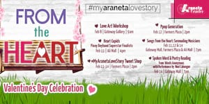 Araneta Center celebrates love through art this National Arts Month