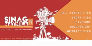 The 2017 Sinag Maynila Film Festival