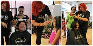 Denman + Hair Aid Organization: Helping others by being a cut above the rest