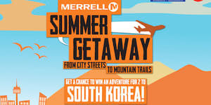 Win A Getaway for Two to South Korea with Merrell!