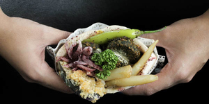 Falafel Yo's Incredibly Filling and Flavorful Vegetarian Sandwiches, Serving Manila Soon!