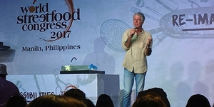 Anthony Bourdain Talks Street Food During His Recent Manila Visit