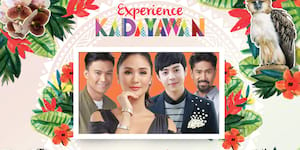 Kapuso Stars at SM City Davao's Kadayawan weekend