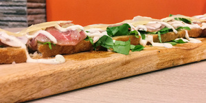 Eat of the Week: Va Bene's Longest Bruschetta is Perfect For Sharing and For Titas of Manila