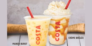 Costa Coffee Launches Locally-Inspired Drinks